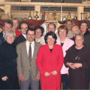 Kandidatinnen und Kandidaten des SPD-Ortsvereins Gütersloh zur Kommunalwahl 2004