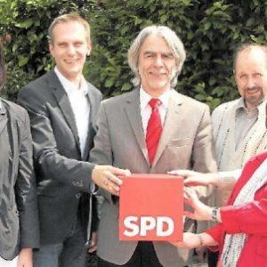Der neue Vorstand des SPD-Kreisverbandes