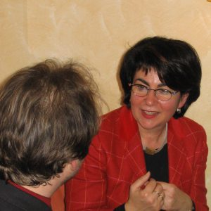 Maria Unger im Gespräch