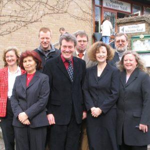Kandidatinnen und Kandiaten der SPD-Gütersloh für den Kreistag