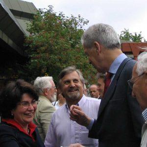 Dr. Henning Scherf zu Gast in Gütersloh.
