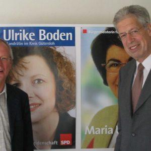 Henning Scherf unterstützt Maria Unger bei der Kommunalwahl am 26. September