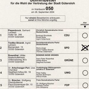 Wählen Sie am Sonntag die SPD für ein l(i)ebenswertes Gütersloh.