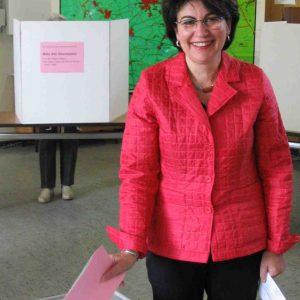 Maria Unger hat gewählt.