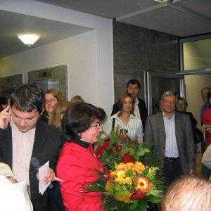 Maria Unger wurde mit 51% der Stimmen im Amt bestätigt.