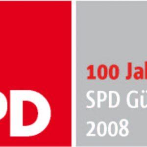 100 jahre spd gütersloh logo