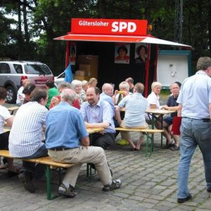 Roter Grill am Spexarder Bauernhaus