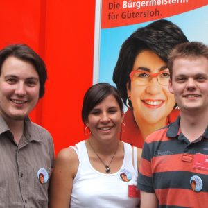von links nach rechts: Martin Goecke, Anke Unger, Dennis Selent